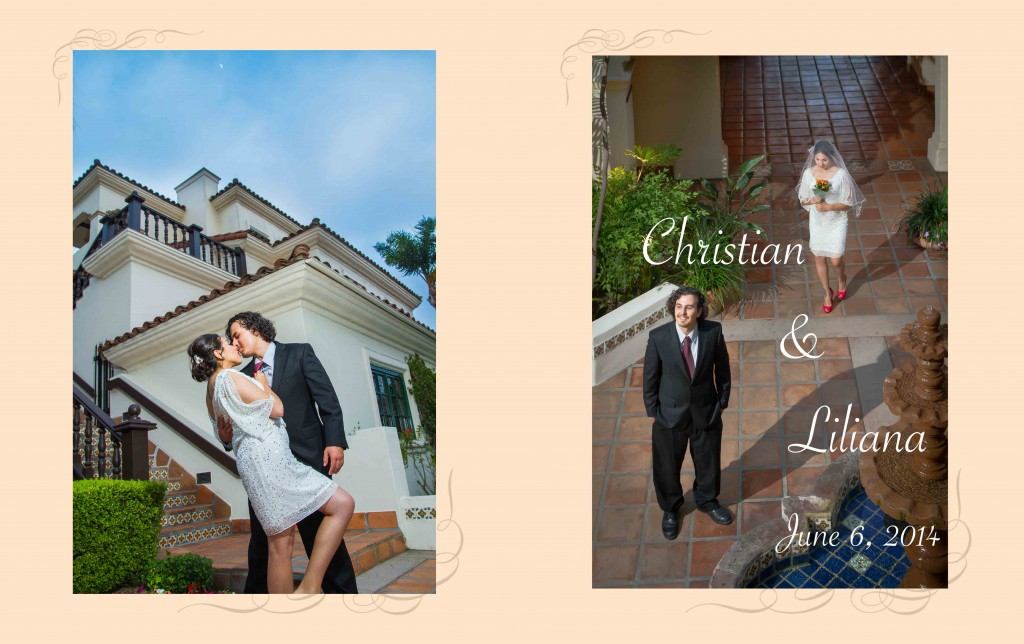 ChristianandLilianaWedding Book1 Cover